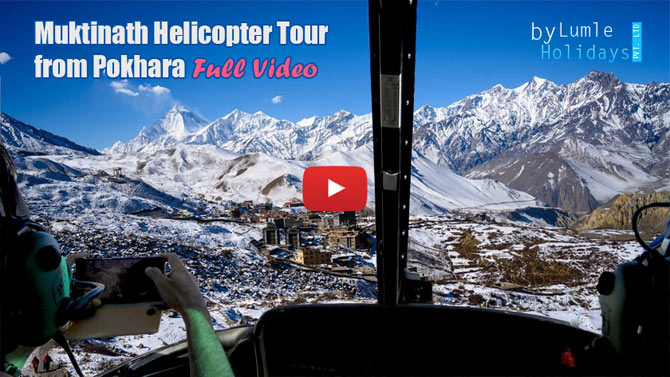 Muktinath Helicopter Tour from Pokhara Video