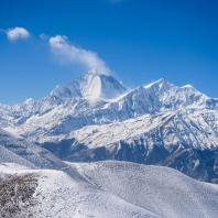 Dhaulagiri Mountain view from Helicopter
