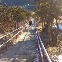 On the way to Ghorepani Poon Hill