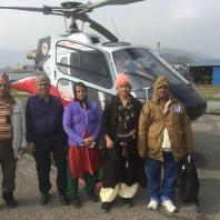 Helicopter Ready to fly Muktinath