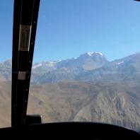 Muktinath Mountain view from Helicopter