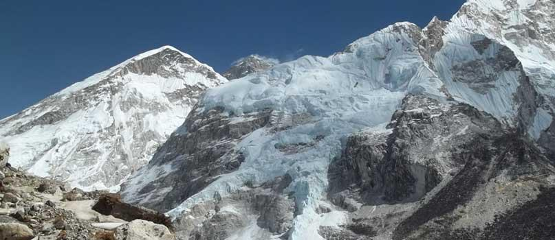 Face to face with Mount Everest in Everest Base Camp Trek Package