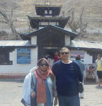 Visit to Muktinath Temple by Jeep