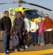 Amazing Trip to Mukthinath by Helicopter